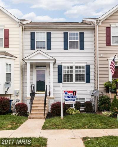 Smithsburg Townhouse For Sale: 103 Eagles Ridge