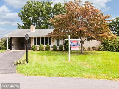 Hagerstown Single Family Home For Sale: 17808 Greenberry Circle