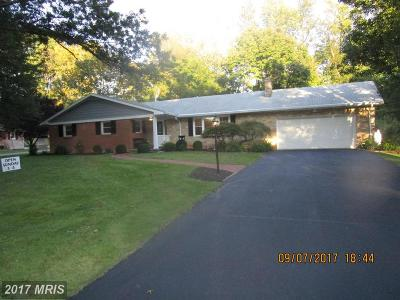 Hagerstown Single Family Home For Sale: 13027 Woodburn Drive