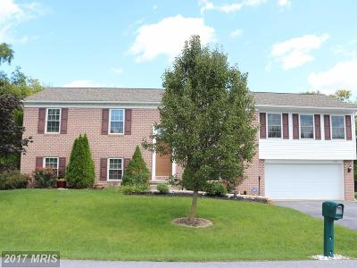 Hagerstown Single Family Home For Sale: 19743 Marigold Drive