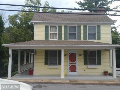 Keedysville Single Family Home For Sale: 61 Main Street