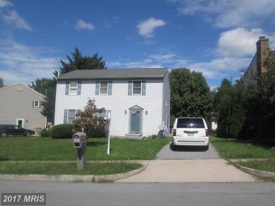 Hagerstown Single Family Home For Sale: 704 Westwood Street