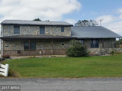 Hagerstown Single Family Home For Sale: 10460 Rock Bottom Lane
