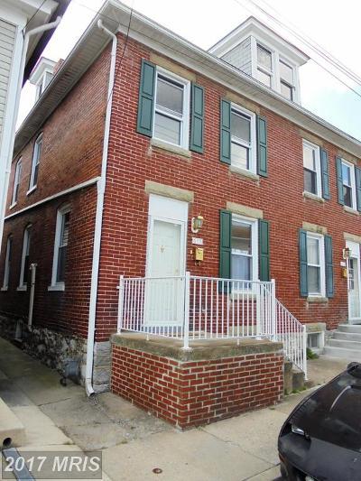 Hagerstown Duplex For Sale: 615 Church Street