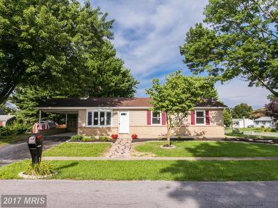 Smithsburg Single Family Home For Sale: 11 Schaller Lane