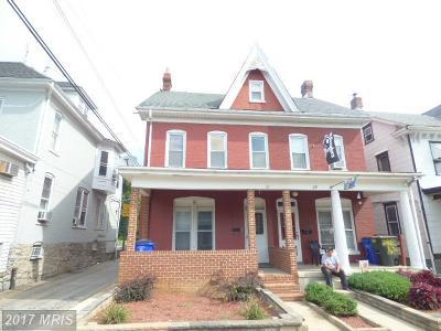 Hagerstown Duplex For Sale: 26 North Avenue