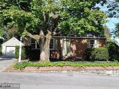 Hagerstown Single Family Home For Sale: 11804 Clearview Road