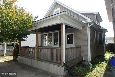 Hagerstown Single Family Home For Sale: 931 Concord Street