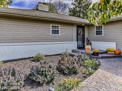 Hagerstown Single Family Home For Sale: 11927 Robinwood Drive