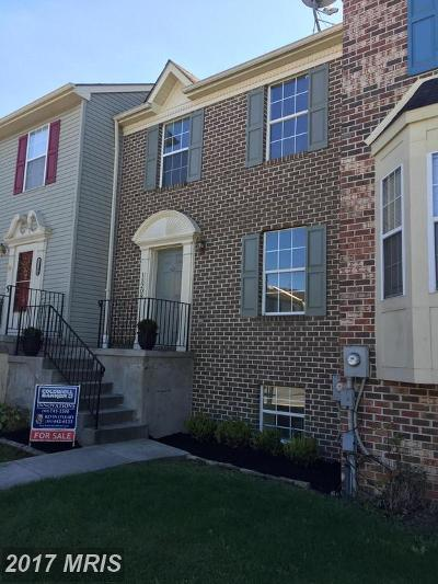 Hagerstown Townhouse For Sale: 11208 Cristins Circle
