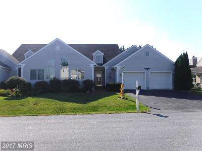 Hagerstown Duplex For Sale: 18715 Dover Drive