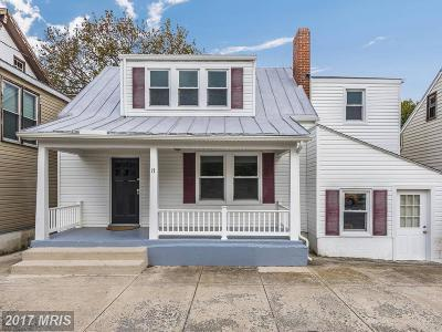 Smithsburg Single Family Home For Sale: 17 Water Street