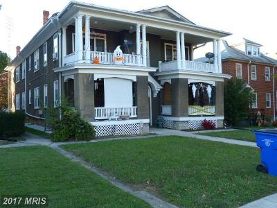 Hagerstown Multi Family Home For Sale: 1133 Hamilton Boulevard