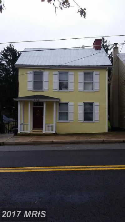Sharpsburg Single Family Home For Sale: 214 Main Street