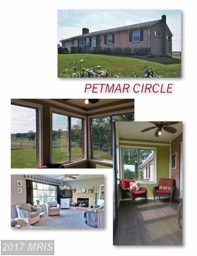 Hagerstown Single Family Home For Sale: 16844 Petmar Circle