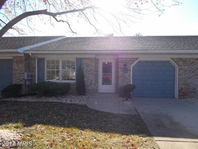 Hagerstown Townhouse For Sale: 1043 Benjamin Place