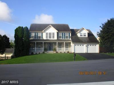 Hagerstown Single Family Home For Sale: 19503 Portsmouth Drive