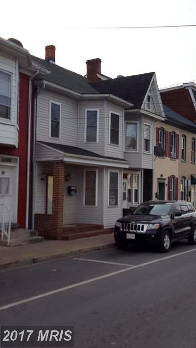 Hagerstown Multi Family Home For Sale: 132 Locust Street N