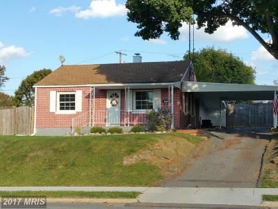 Hagerstown Single Family Home For Sale: 1218 Crescent Road