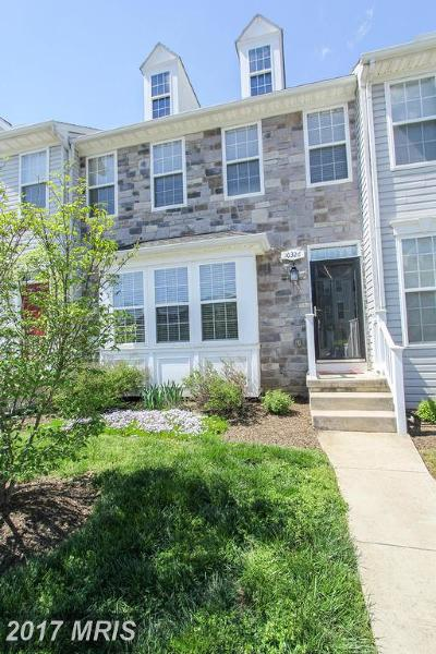 Hagerstown Townhouse For Sale: 10326 Bridle Court