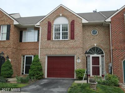 Hagerstown Townhouse For Sale: 1221 Lindsay Lane