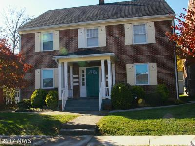 Hagerstown Multi Family Home For Sale: 1 Cypress 1-3, 5-7 Street