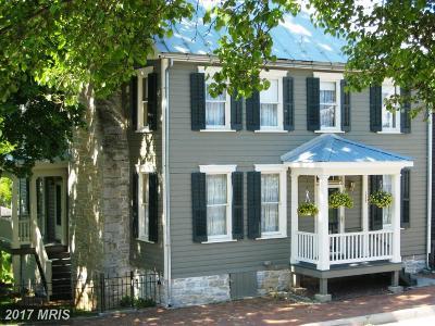 Sharpsburg Single Family Home For Sale: 135 West Main Street W