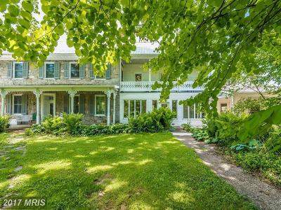 Hagerstown Farm For Sale: 13506 Little Antietam Road