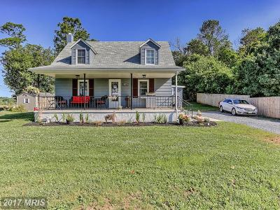 Sharpsburg Single Family Home For Sale: 17350 Shepherdstown Pike