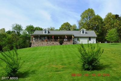 Sharpsburg Single Family Home For Sale: 18426 Mount Lock Hill Road