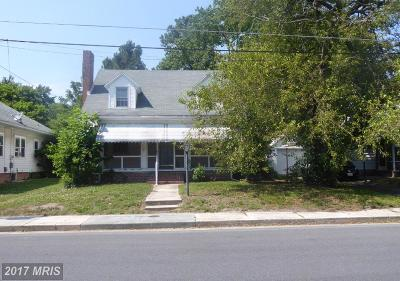Somerset, Wicomico, Worcester Single Family Home For Sale: 1019 Phillips Avenue