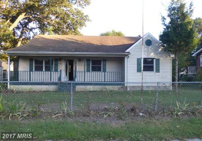 Somerset, Wicomico, Worcester Single Family Home For Sale: 303 Camden Avenue