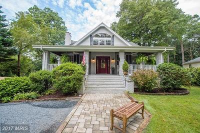 Somerset, Wicomico, Worcester Single Family Home For Sale: 1012 Riverside Drive