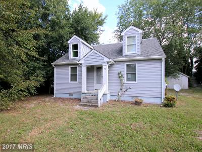 Somerset, Wicomico, Worcester Single Family Home For Sale: 105 Russell Avenue