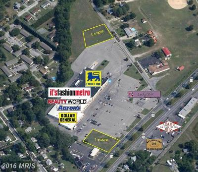Wicomico, WICOMICO COUNTY Residential Lots & Land For Sale: Fruitland Boulevard