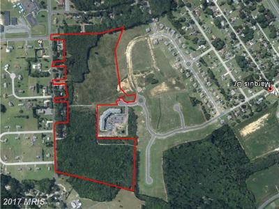Somerset, Wicomico, Worcester Residential Lots & Land For Sale: West Road