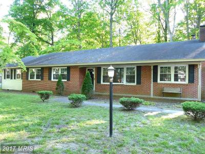 Somerset, Wicomico, Worcester Single Family Home For Sale: 612 Sherwood Circle