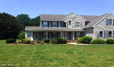 Somerset, Wicomico, Worcester Single Family Home For Sale: 6822 Whetstone Drive