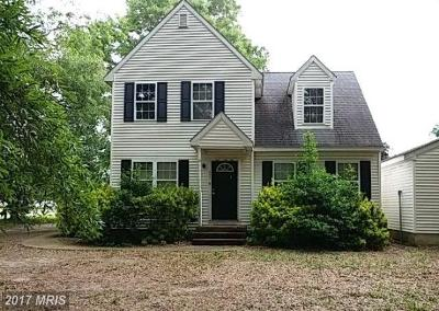 Somerset, Wicomico, Worcester Single Family Home For Sale: 27707 Leeward Drive