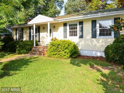 Colonial Beach Single Family Home For Sale: 209 Rosier Lane