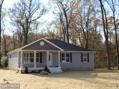 Colonial Beach Single Family Home For Sale: Cedar Lane