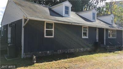 Caroline, Culpeper, Essex, Fredericksburg City, Hanover, King George, Northumberland, Richmond, Spotsylvania, Stafford, Westmoreland Rental For Rent: 201 Irving Avenue #D
