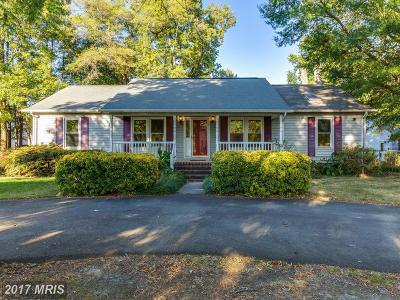 Colonial Beach Single Family Home For Sale: 2703 Stratford Street