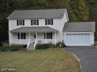 Montross Single Family Home For Sale: 190 Barnes Creek Court