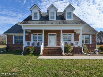 Colonial Beach Single Family Home For Sale: 68 Church Point Lane