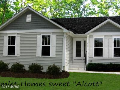 Montross Single Family Home For Sale: Cabin Point Drive #LOT 86