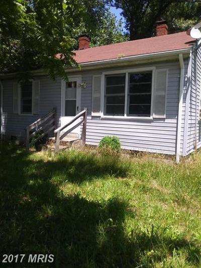 Montross VA Single Family Home For Sale: $98,000