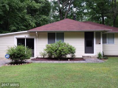 Colonial Beach VA Single Family Home For Sale: $124,900