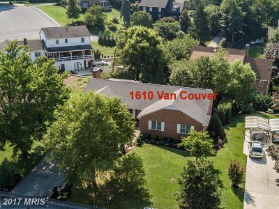 Winchester Single Family Home For Sale: 1610 Van Couver Street