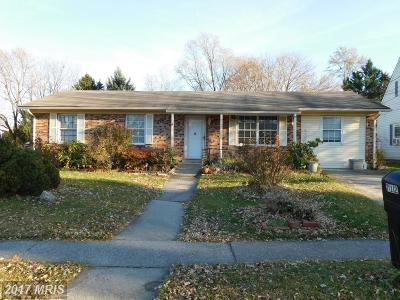 Winchester Single Family Home For Sale: 712 Butler Avenue